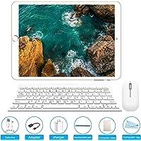 Tableta 10.1 pulgadas, Android 7.0 Tablet PC con ranura para tarjeta SIM Dual, 3G, GSM, Octa Core(8), 3 GB de RAM + 32 GB ROM, cámara dual incorporada, Bluetooth 4.0, Wi-Fi y GPS