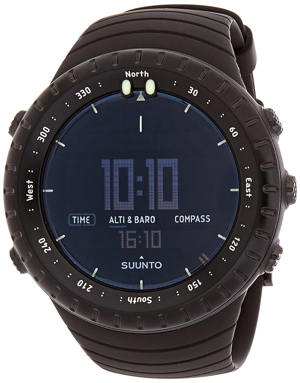Suunto CORE ULTIMATE - Reloj unisex de exterior para todas las altitudes, sumergible (30 m), altímetro, barómetro, especificaciones meteorológicas, carcasa resistente, color negro