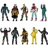 Fortnite The Chapter 1 Collection – Diez Figuras de acción de 4 Pulgadas, con recluta (Jonesy), Black Knight, Rust Lord, The