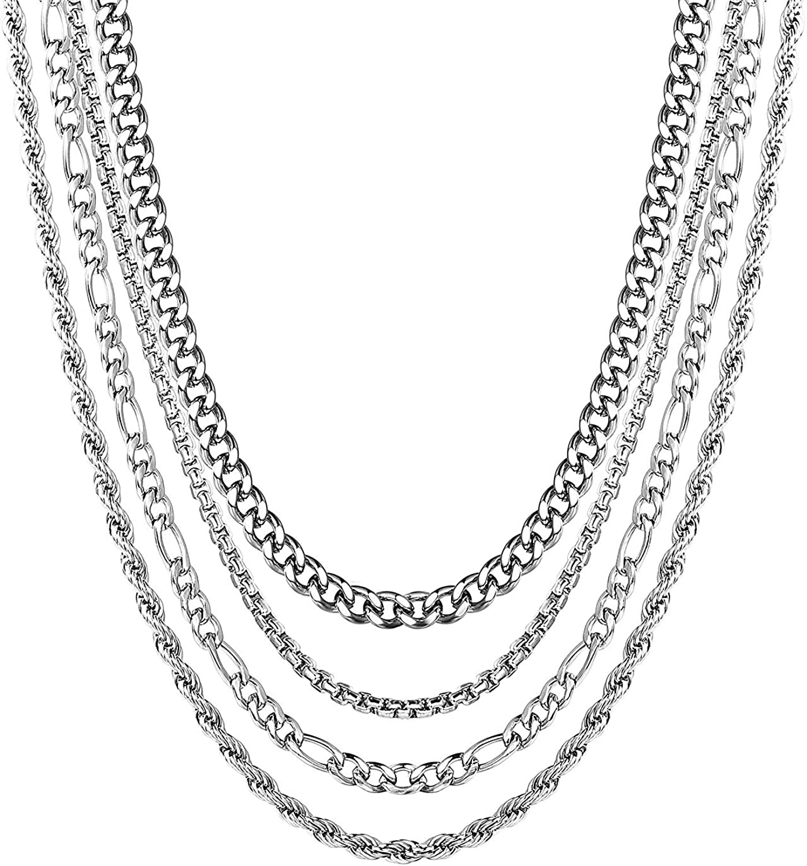Longueur 40 45 50 55 60 70 cm Largeur 1 mm Amberta/® Bijoux Cha/îne Argent 925//1000 Collier Maille Jaseron