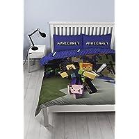 Minecraft Reversible Single Duvet Cover Set