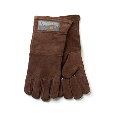 Outset F234 Leather Grill Gloves, 2 CT, Brown
