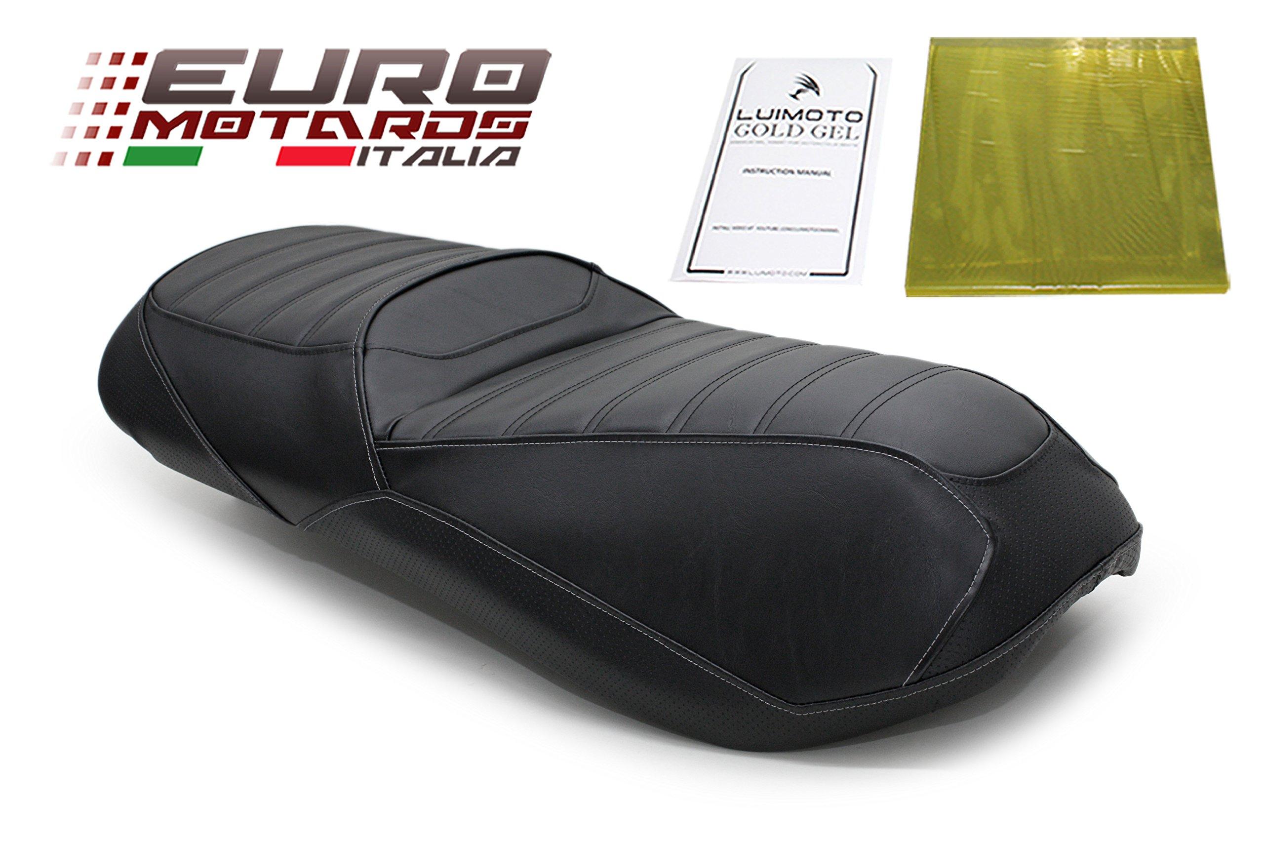 Piaggio MP3 500 Sport 2010-2012 Luimoto Aero Edition Seat Cover New + Gel Pad