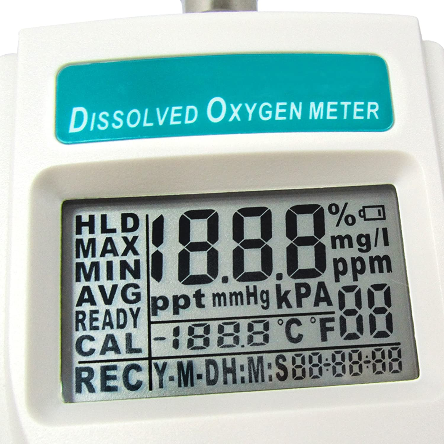 Digital Dissolved Oxygen DO Meter Pressure Monitor Tester with CD and USB Cable