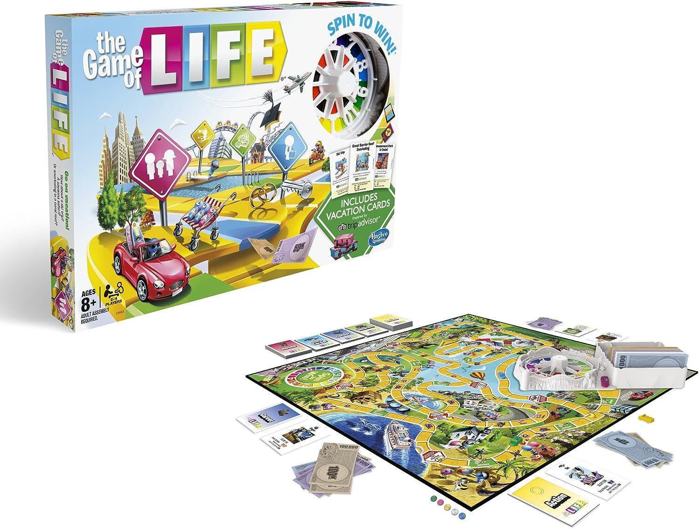 Hasbro El Juego de la Vida: TripAdvisor Edition: Amazon.es: Juguetes y juegos