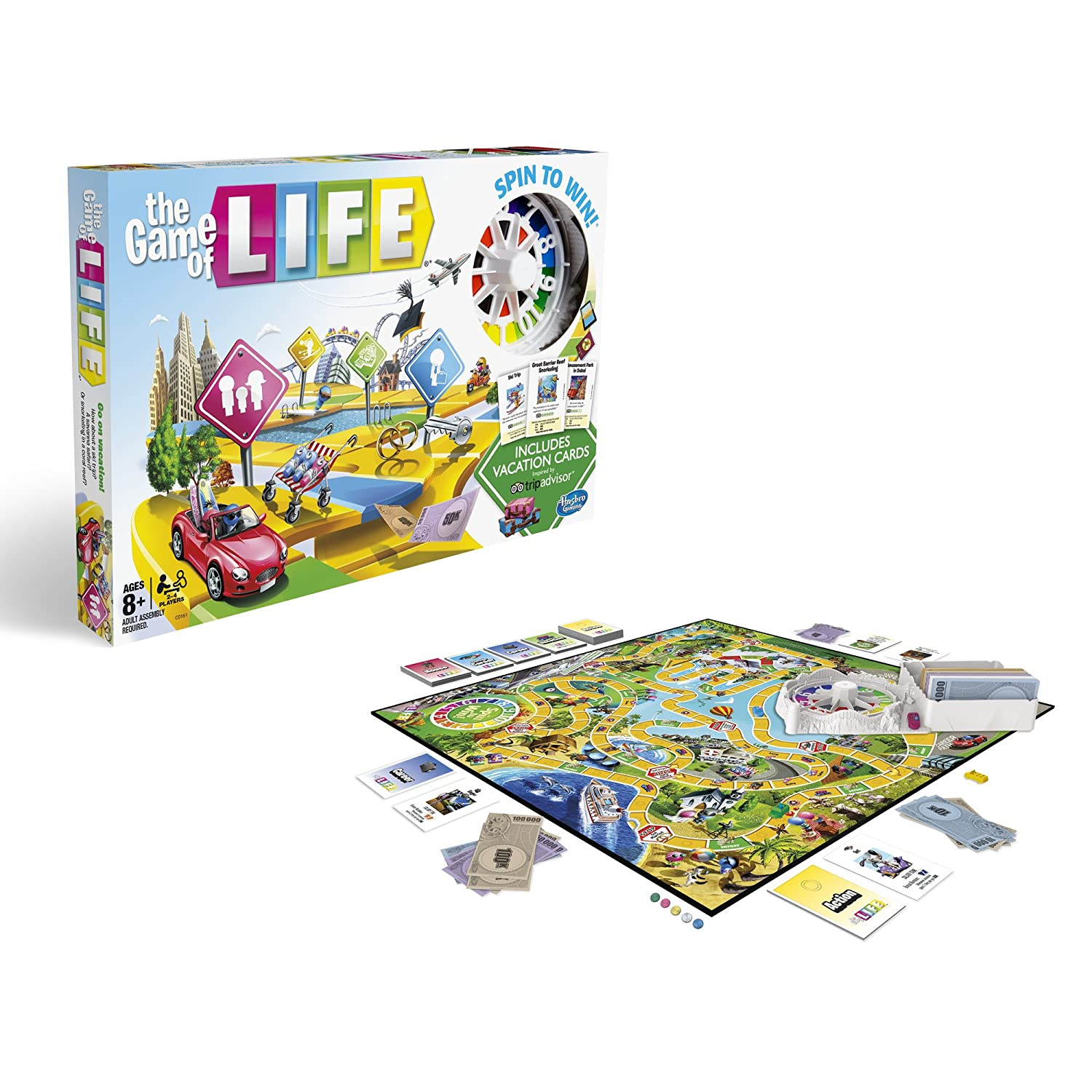 Amazon The Game Of Life Tripadvisor Edition Toys Games