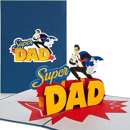 PaperCrush® Tarjeta Pop-Up Día del Padre
