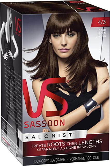 Vidal Sassoon - Tinte de pelo profesional - rubio neutro oscuro - número 7/0.