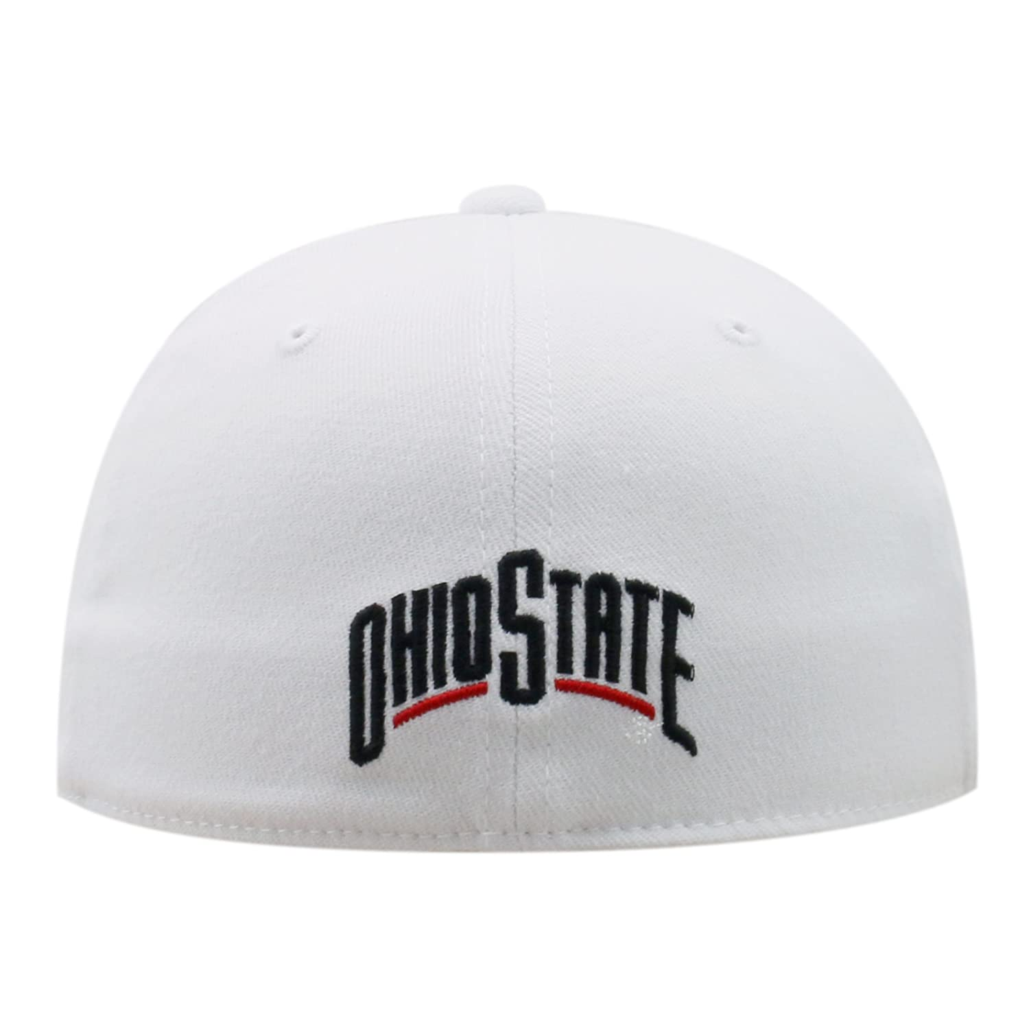 huge discount 9e0ed 6f7fd Amazon.com   Ohio State Buckeyes Premium Hat - Fitted, Memory Fit (Red,  Black, White) (Black)   Sports   Outdoors