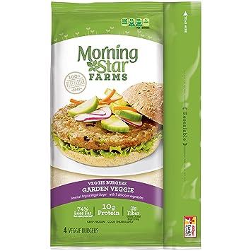 Image Not Available For Color MorningStar Farms Garden Veggie Burgers 4 Count 95 Oz Frozen