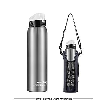 Amazon.com: Botella de agua aislada de acero inoxidable ...