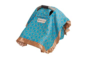 Babee Covee Multi Purpose Baby Blanket Turquoise Almond Discontinued By Manufacturer