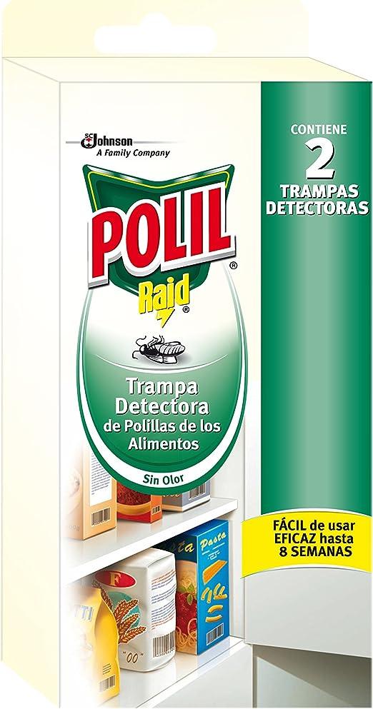 Polil Trampa detectora de Polillas de los Alimentos - 2 unidades ...