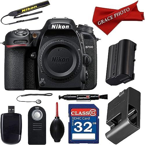 Nikon D7500 20.9MP DX-Format Digital SLR Camera