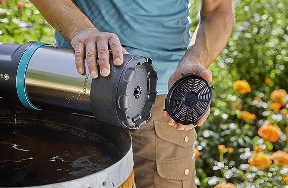 Gardena 01766-20 Regenfasspumpe 4700//2 inox automat. Garten-Bewässerung