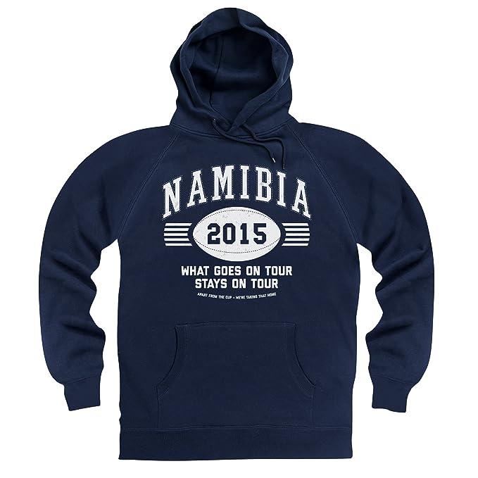 Namibia Tour 2015 Rugby Sudadera con capucha, Para hombre: Amazon.es: Ropa y accesorios