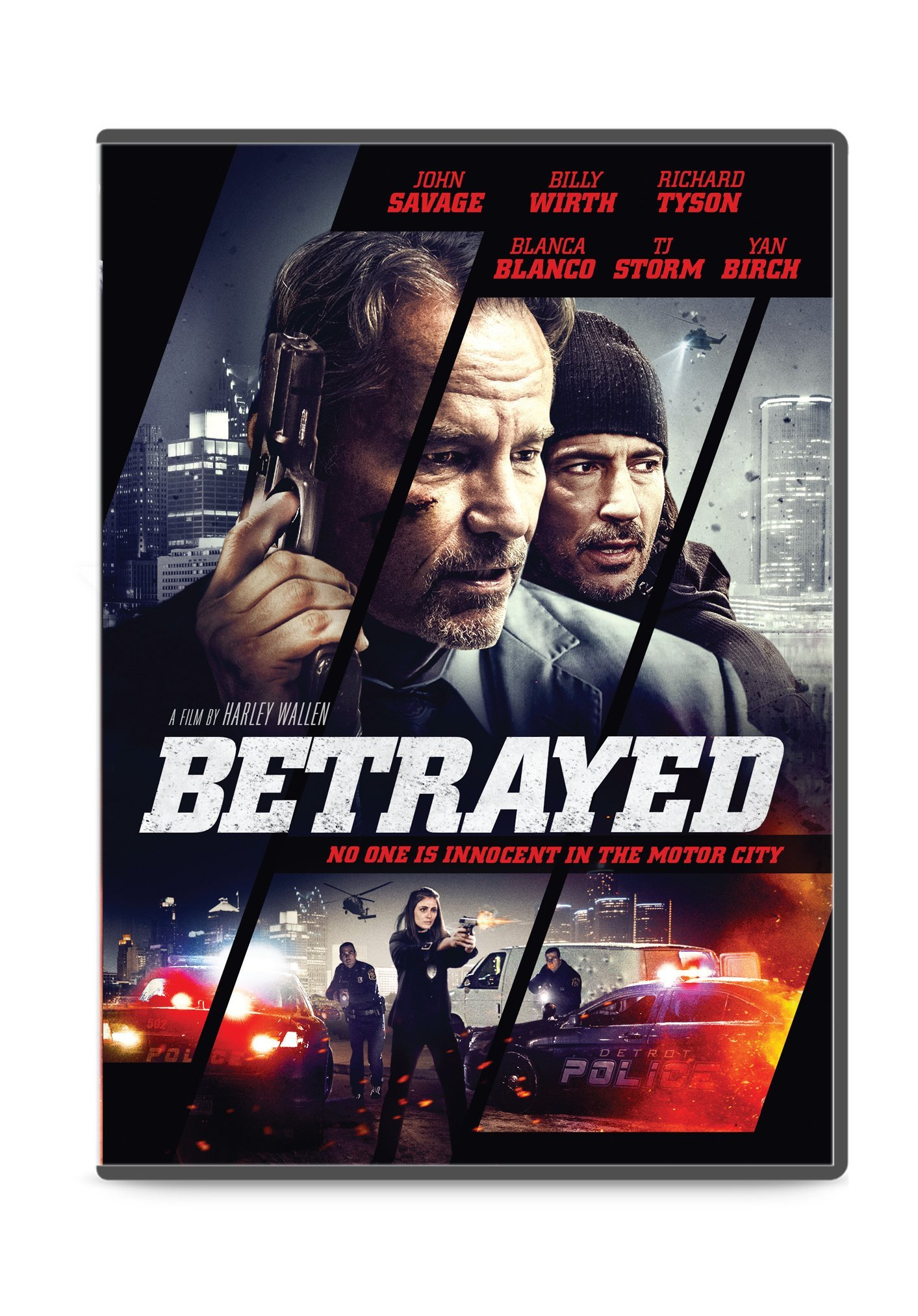 DVD : Betrayed (Dolby, AC-3, Widescreen, Dubbed, Subtitled)