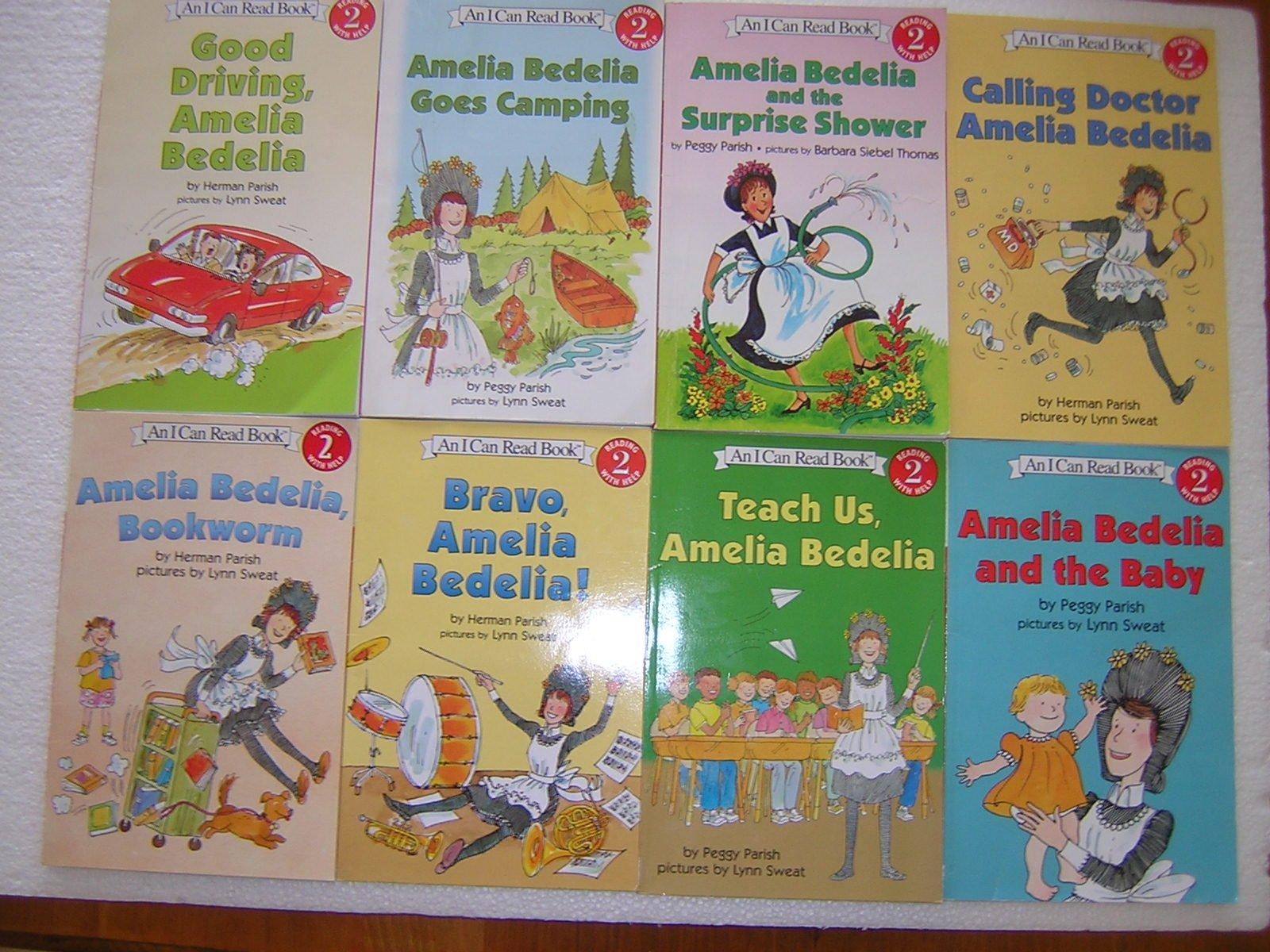 An I Can Read Amelia Bedelia Series (8 Volume Set) pdf epub