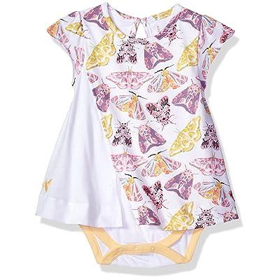 Burt's Bees Baby Baby Infant Organic Flutter Sleeve Bodysuit