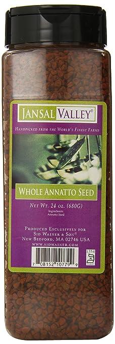 Jansal Valley Whole Annatto Seed, 24 Ounce