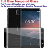 Case Creation™ Tempered Glass Screen Scratch Guard Protector for Nokia 8 Sirocco