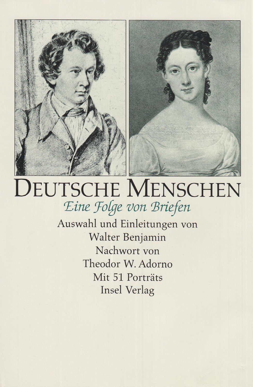 Deutsche Menschen  Eine Folge Von Briefen Mit 51 Porträts