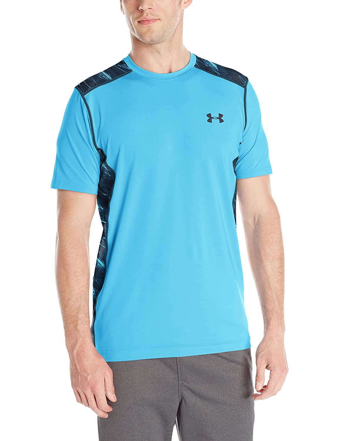 (アンダーアーマー) UNDER ARMOUR ヒットヒートギアSS(トレーニング/Tシャツ/MEN)[1257466] B016APQE1C XX-Large Tall|Meridian Blue/Anthracite Meridian Blue/Anthracite XX-Large Tall