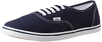 Vans Unisex Authentic Lo Pro Navy and True White Sneakers - 3 UK India ( fce742b9d1b8