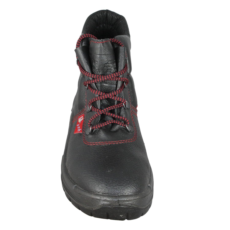 PSH - Calzado de protección de Piel para hombre, color Negro, talla 38