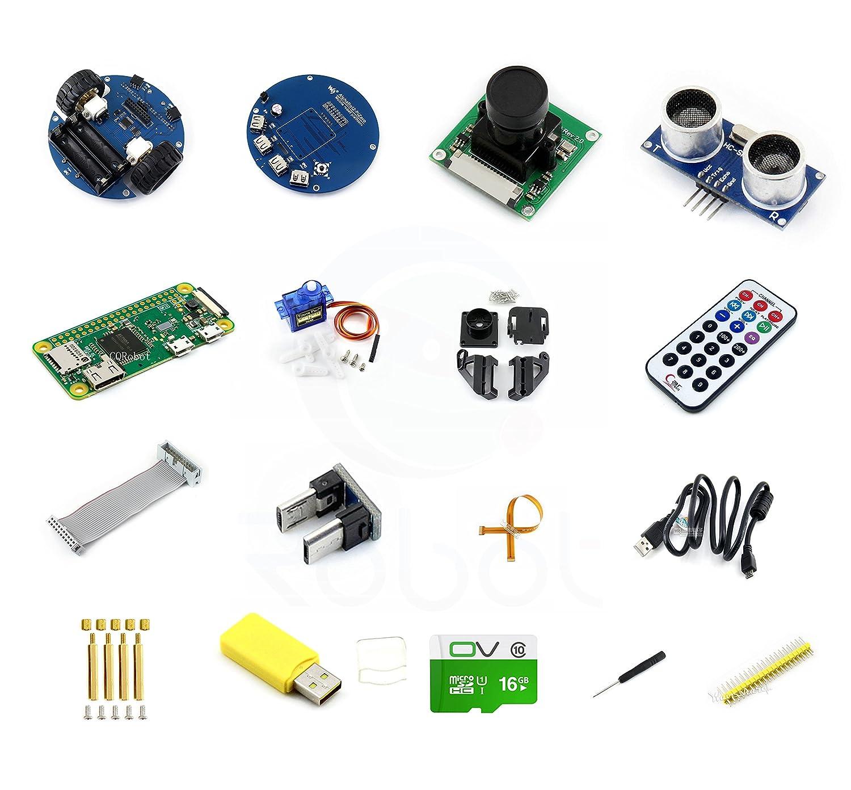CQRWX00633GB Line Tracking AlphaBot2-PiZero W Robot Wifi Remote