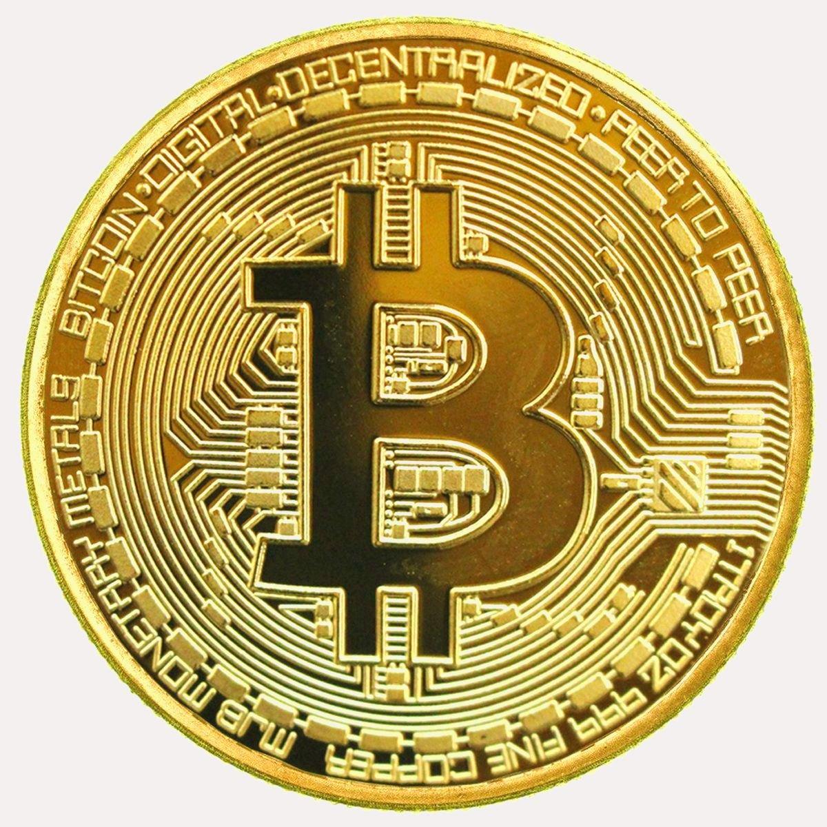 ビットコイン金メッキBitcoin仮想通貨 コイングッズギフト100枚 セット B0783HGWL2