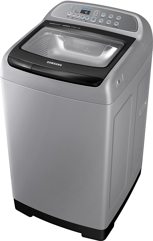 samsung toploading washing machine 65 kg imperial silver amazonin home u0026 kitchen