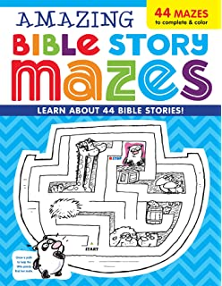 Amazing Bible Story MAZES Im Learning The Activity Book
