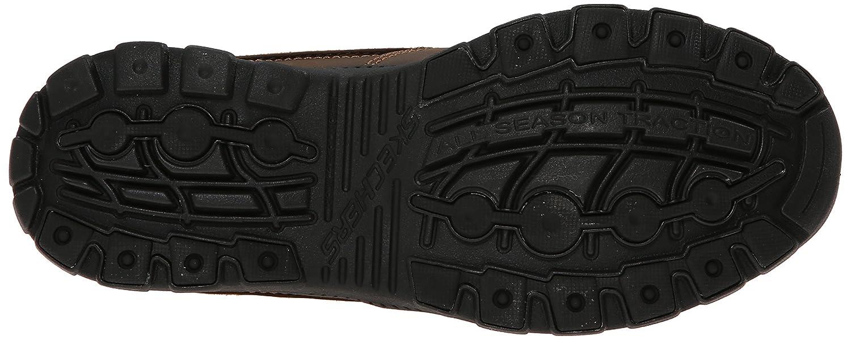 Skechers Hombre Deslizan En Los Zapatos De Cuero Teo5sYLA