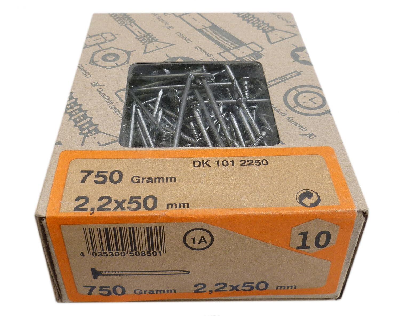 Senkkopfn/ägel 2,2x50 mm DK 1012250 750gr