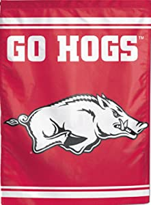 "Wincraft Arkansas Razorbacks Garden Flag 11"" X 15"""