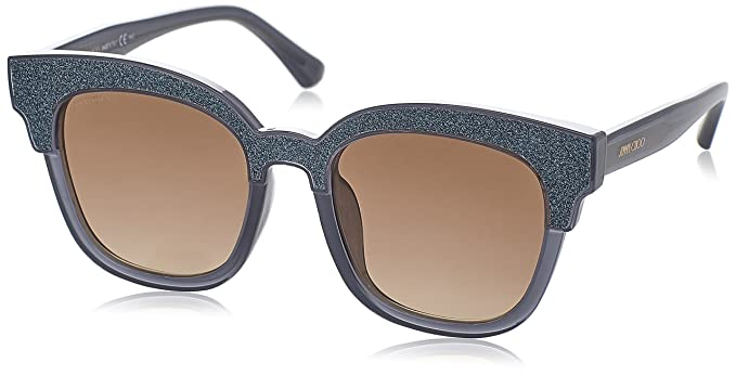 Jimmy Choo MAYELA/S VF 18V 50 gafas de sol, Gris (Gryglttr Gry/Ltbrw Sf Ar), Mujer