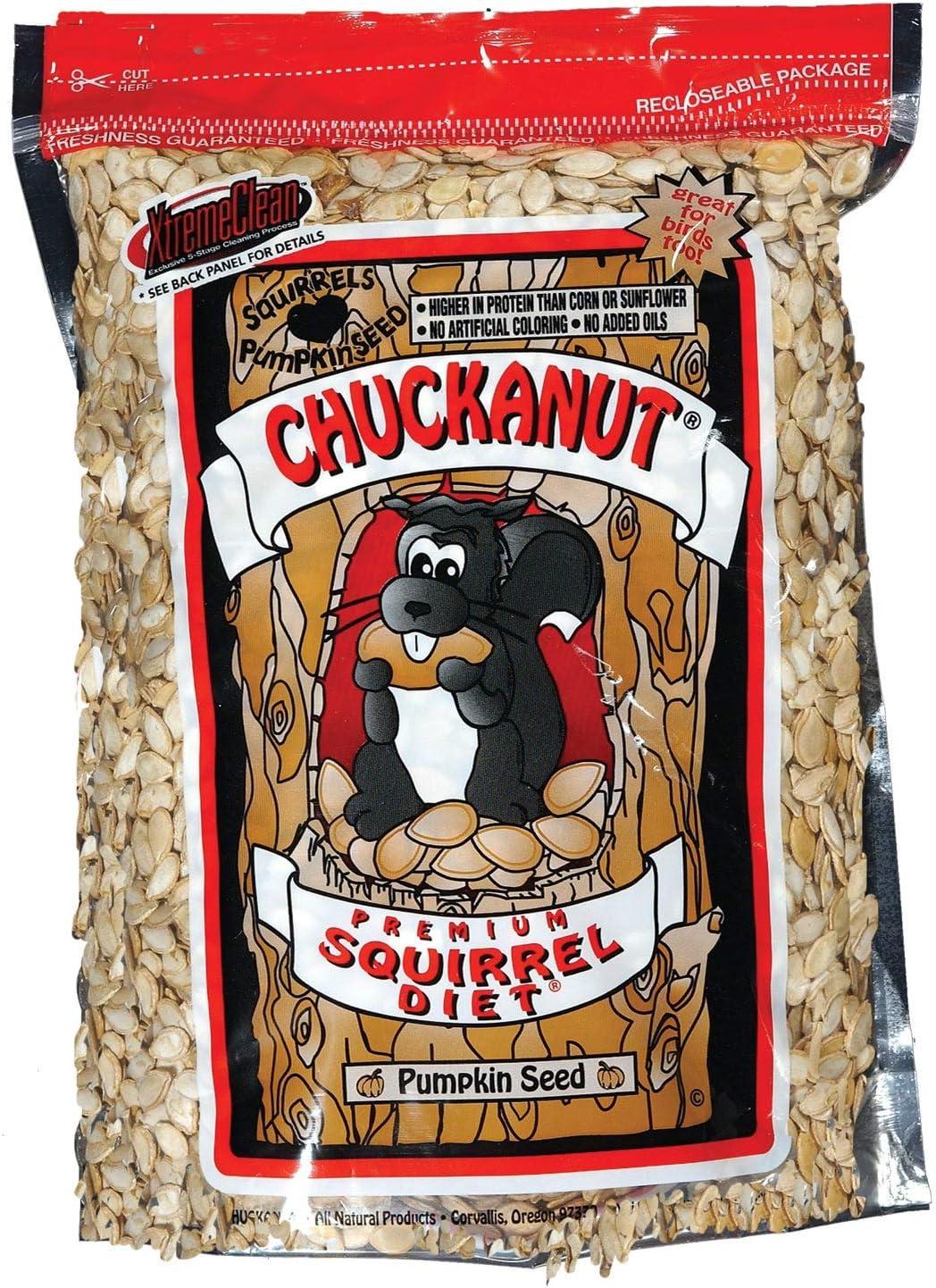 Chuckanut Products 00000 20-Pound Premium Squirrel Diet