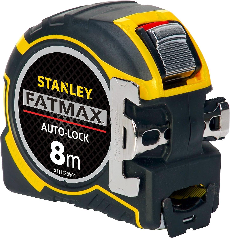 """6 Stanley FatMax 25/' x 1-1//4/"""" lame large SAE Magnétique Ruban à mesurer FMHT 33865 S"""