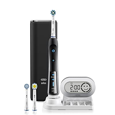 Oral-B Pro 7000 SmartSeries Black Electronic Power Rechargeable Battery Electric Toothbrush