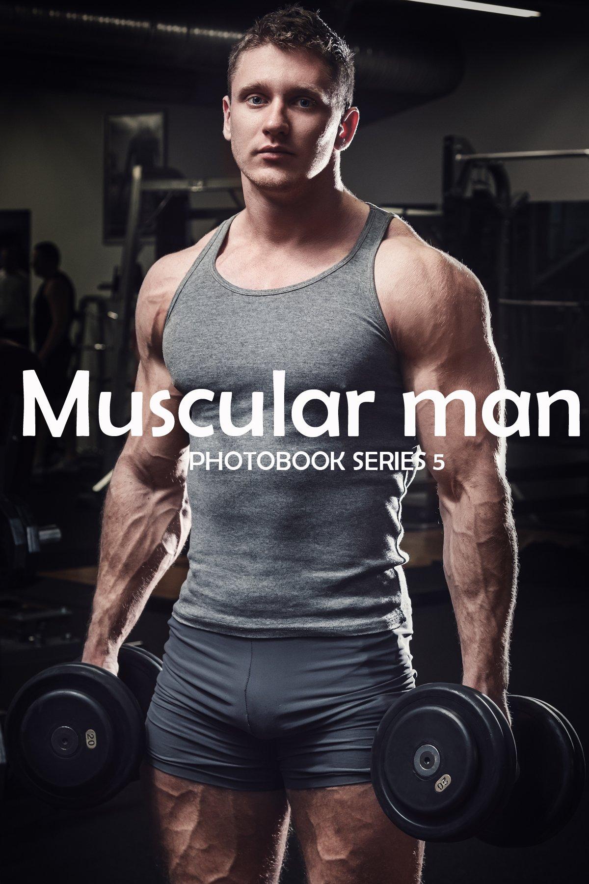 Muscular man (Photo Book) Series 5