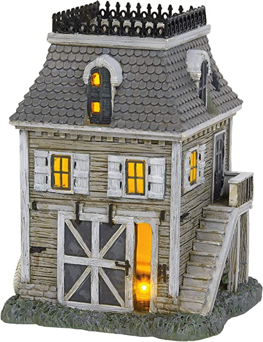 Department 56 Hot Properties Village Addams Fam Carriage House