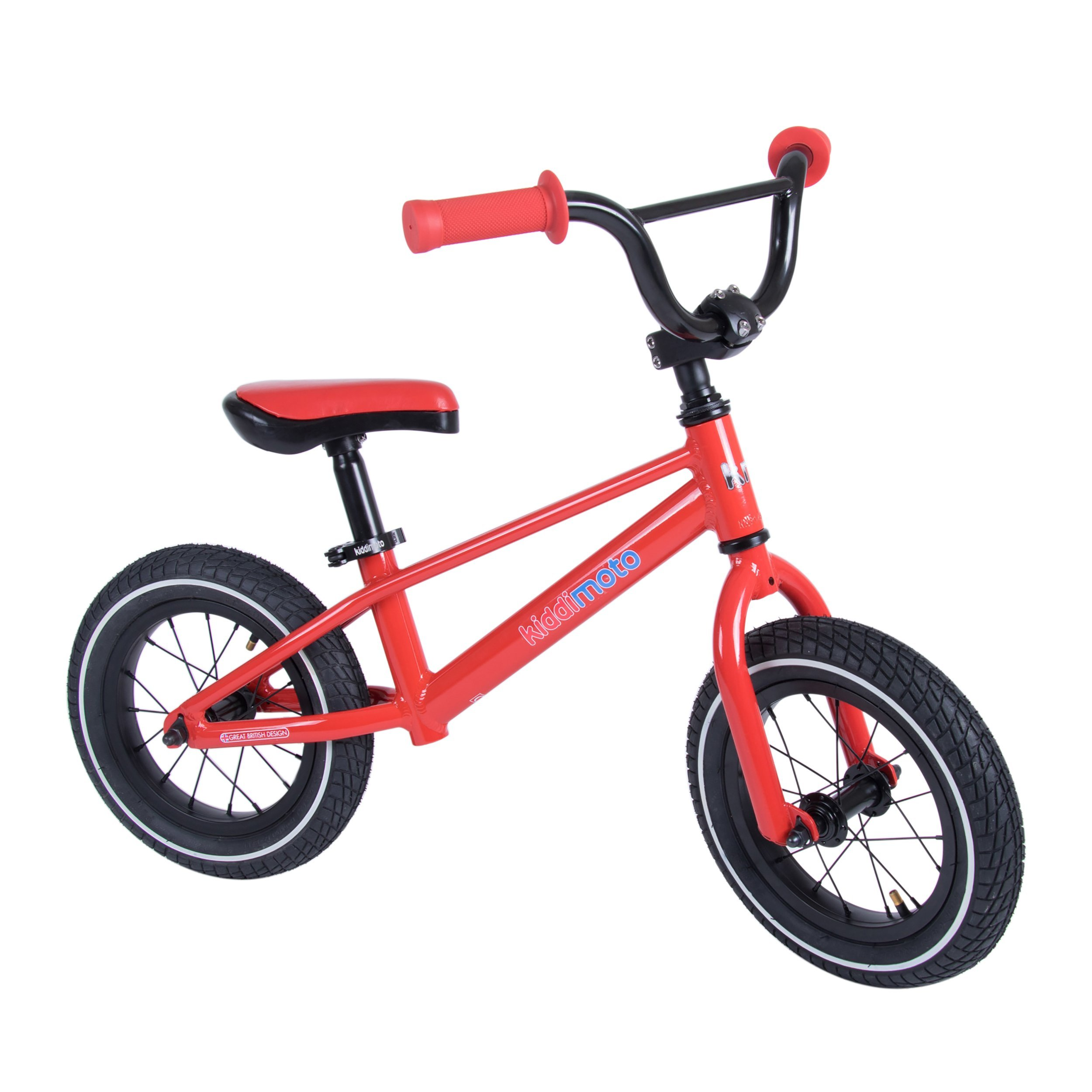 Kiddimoto BMX Running/Balance Bike, Red
