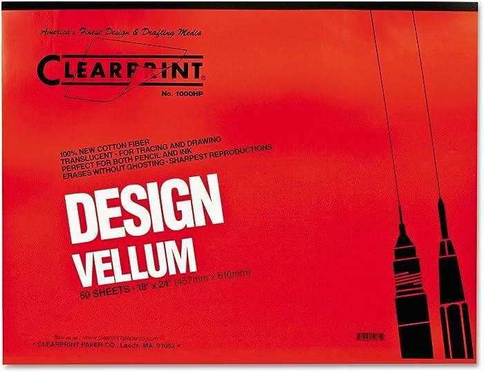 The Best Clear Print Vellum 1000 Hp