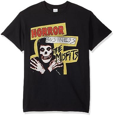 faeb1ab40d8e7 Amazon.com  FEA Misfits Horror Business Mens T-Shirt  Clothing