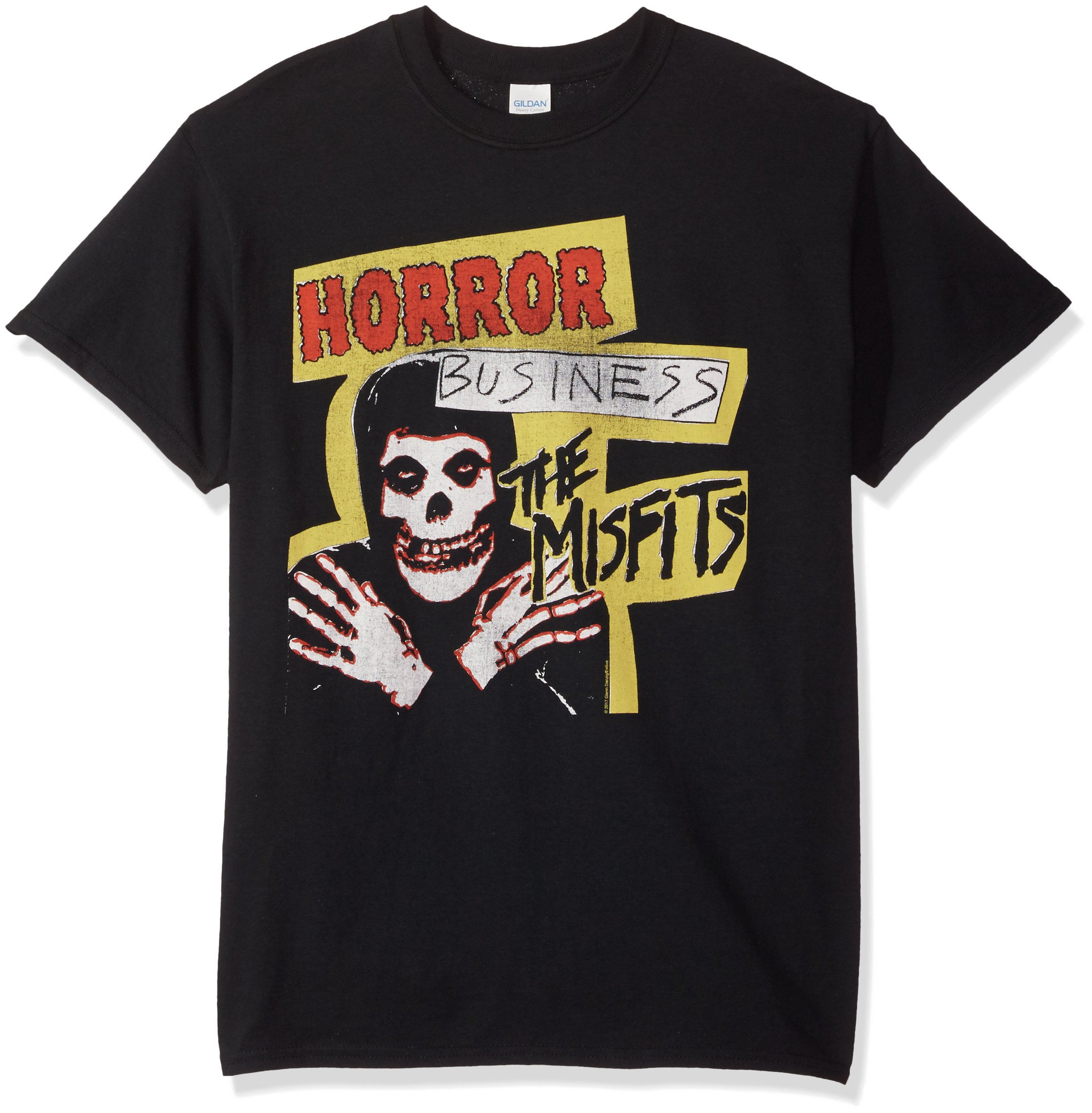 FEA Men's Misfits Horror Business T-Shirt, Black, Medium