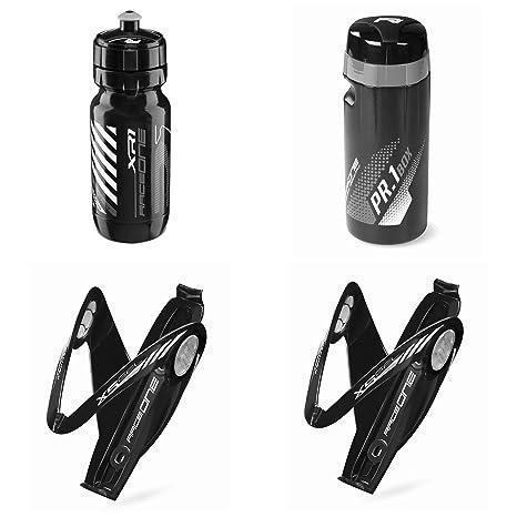 Raceone - Kit Race Trio X5 Gel (4 PCS): 2 Porta Bidon X5 Gel Bidon de