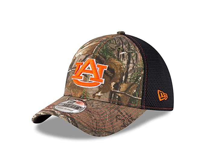 super popular 0bac9 1a6dd NCAA Auburn Tigers Men s Realtree Neo OTC 39Thirty Stretch Fit Cap, Small  Medium,