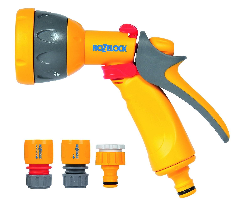 Hozelock, Pistola a spruzzo con accessori, colore: Arancione 2347 0000