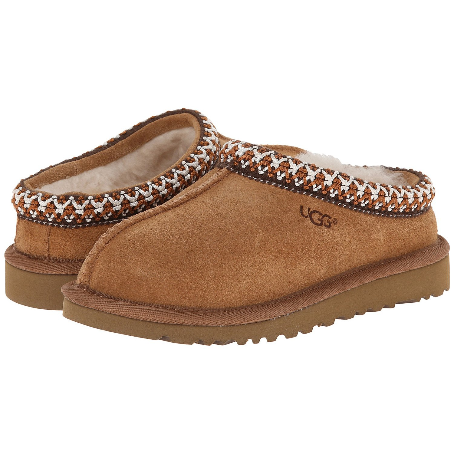 UGG Australia Girls Tasman Slipper Chestnut Size 12 M US Little Kid